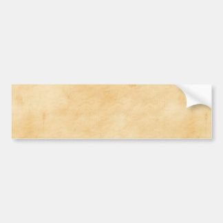 Old Parchment Background Stained Mottled Look Bumper Sticker