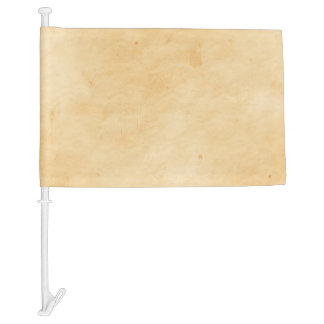 Old Parchment Background Stained Mottled Look Car Flag