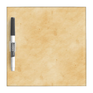 Old Parchment Background Stained Mottled Look Dry-Erase Board