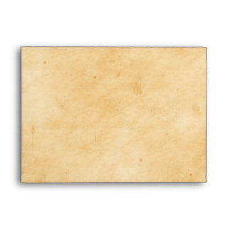 Old Parchment Background Stained Mottled Look Envelope