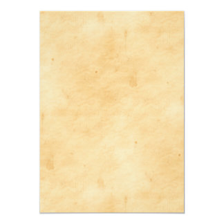 Old Parchment Background Stained Mottled Look 5x7 Paper Invitation Card