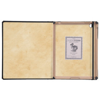 Old Parchment Background Stained Mottled Look iPad Case