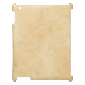 Old Parchment Background Stained Mottled Look iPad Cover