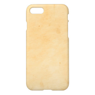 Old Parchment Background Stained Mottled Look iPhone 8/7 Case