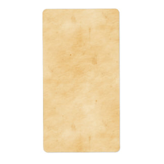 Old Parchment Background Stained Mottled Look Label