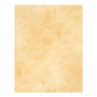 Old Parchment Background Stained Mottled Look Letterhead