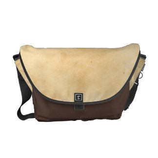 Old Parchment Background Stained Mottled Look Messenger Bag