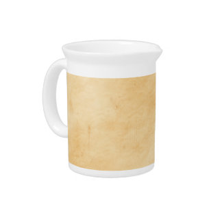 Old Parchment Background Stained Mottled Look Beverage Pitcher