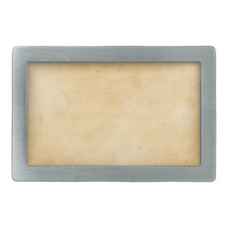 Old Parchment Background Stained Mottled Look Rectangular Belt Buckle