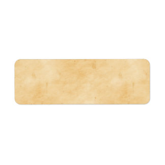 Old Parchment Background Stained Mottled Look Return Address Label