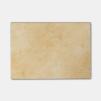 Old Parchment Background Stained Mottled Look Post-it® Notes
