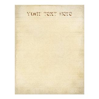 Old Parchment Letterhead