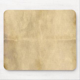 old parchment mouse pad