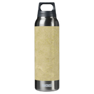 Old Parchment Paper 16 Oz Insulated SIGG Thermos Water Bottle
