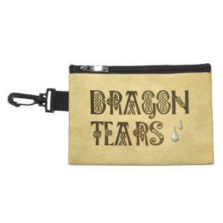 Old Parchment Paper Dragon Tears Celtic Knot Accessory Bag
