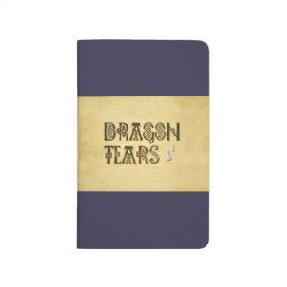 Old Parchment Paper Dragon Tears Celtic Knot Journal