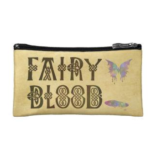 Old Parchment Paper Fairy Blood Celtic Knot Makeup Bags