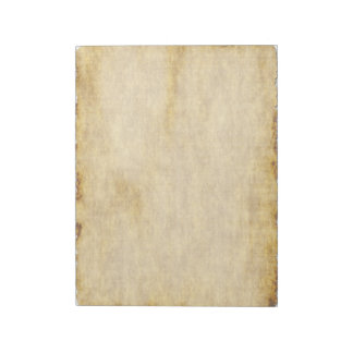 Old Parchment Paper Style Notebook Memo Notepads
