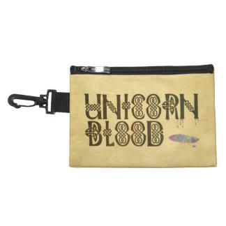 Old Parchment Paper Unicorn Blood Celtic Knot Accessories Bag