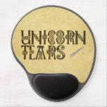 Old Parchment Paper Unicorn Tears Celtic Knot Gel Mouse Pad