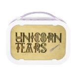 Old Parchment Paper Unicorn Tears Celtic Knot Lunchbox