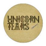 Old Parchment Paper Unicorn Tears Celtic Knot Poker Chips