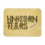 Old Parchment Paper Unicorn Tears Celtic Knot Flexible Magnet
