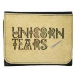 Old Parchment Paper Unicorn Tears Celtic Knot Wallets
