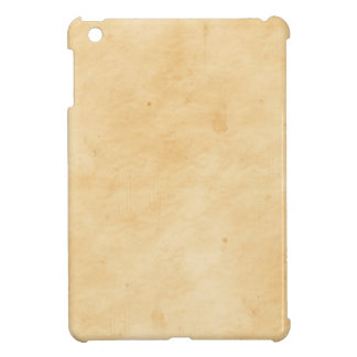 Old Parchment Stained Mottled Background iPad Mini Cover