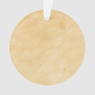 Old Parchment Stained Mottled Background Ornament