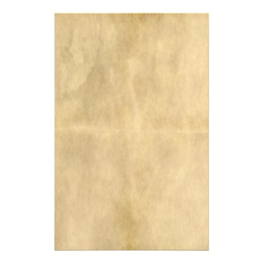 old parchment stationery