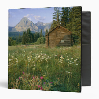 Old Park Service cabin in the Cut Bank Valley 3 Ring Binder