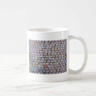 Old pavement tiles coffee mug
