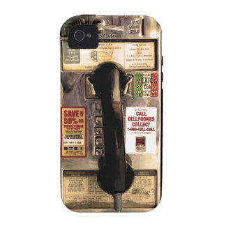 Old Pay Phone Case-Mate iPhone 4 Covers