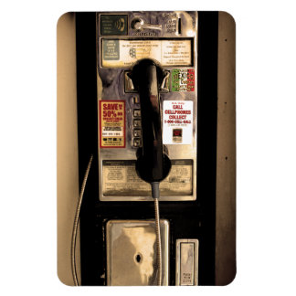 Old Pay Phone Magnet
