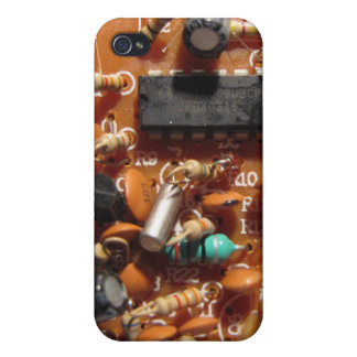 Old PC Board iPhone 4/4S Case