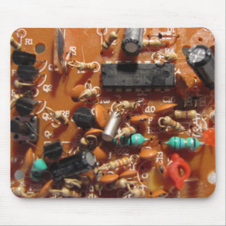 Old PC Board Mouse Pad