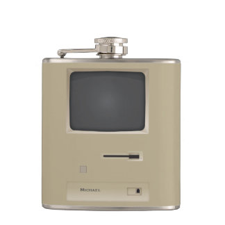 Old PC Computer Flask