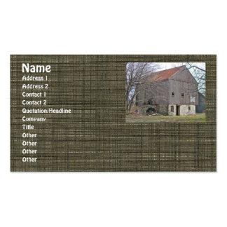 Old Pennsylvania Bank Barn Business Cards