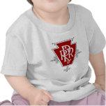 Old Pennsylvania Railroad Logo Infant T-shirt