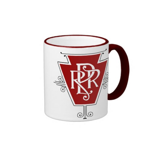 Old Pennsylvania Railroad Logo Mug