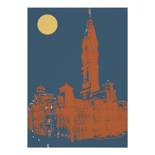 Old Philadelphia City Hall Poster Zazzle Com