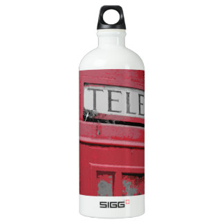 OLD PHONE BOX WATER BOTTLE