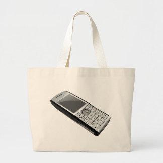 Old Phone Large Tote Bag
