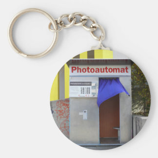 Old photo booth 004 01.0 keychain