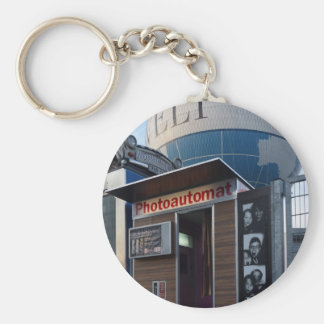 Old photo booth in Berlin, Germany Keychain