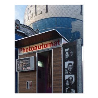 Old photo booth in Berlin, Germany Custom Letterhead