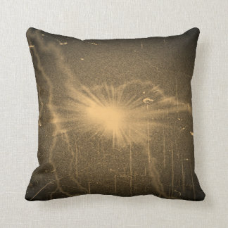 Old Photo Lightning Art Design Abstract Pillow