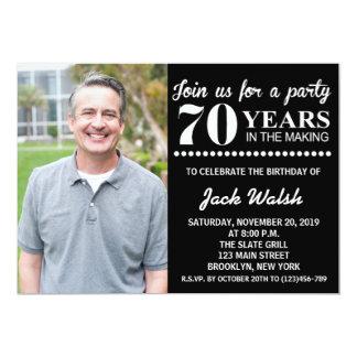 Old Photo Surprise Birthday Party Invitation
