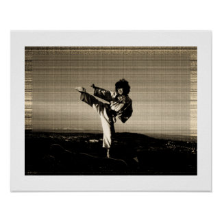 'Old photo' taekwondo poster